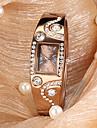 Женские Модные часы Кварцевый сплав Группа Блестящие / Кольцеобразный Бронза бренд-