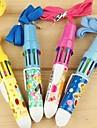 patrón de dibujos animados 10 colores bolígrafo automático (color al azar)