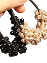 Korean Hand-woven Beaded Pearl Hair Ties Accessories