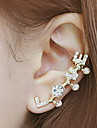 Poignets oreille Alliage Strass Imitation de diamant Bijoux Quotidien Decontracte 1pc
