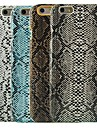 змеиная кожа шаблон жесткий чехол для iPhone 6 Plus (разные цвета)