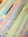2 х 30 шт флуоресцентный эффект Letter Pattern счастливая звезда оригами материалы (Random Color)