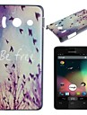 Fly Freely Pattern PC Hard Case for Huawei Y300