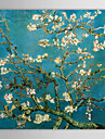 vászon olajfestmények mandula ágak virágzás, san remy, c.1890 vincent van gogh kézzel festett készen áll
