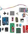RFID System Learning Kit w/UNO R3 Step Motor RFID Module RFID IC Card RFID IC Keychain Based for Arduino