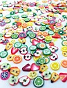 300pcs Fruit Fimo Decoration Kits Fruit Fashion Lovely High Quality Daily