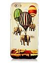 Для Кейс для iPhone 6 Кейс для iPhone 6 Plus Чехлы панели С узором Задняя крышка Кейс для Слон Твердый PC дляiPhone 6s Plus iPhone 6 Plus