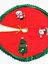 1set Santa Tree Skirts Christmas Novelty Party, Holiday Decorations Holiday Ornaments