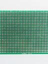 double face en fibre de verre prototype de carte de circuit imprimé pour Arduino (7 x 9cm)