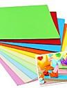 100 piezas papercranes fragancia materiales origami 7 * 7 cm (8color / paquete de color al azar)