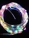10m 9.6W levou 100 e cinco cores de luz luz de tira do flash natal lâmpada (12V DC)