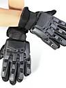 Спортивные перчатки Перчатки для велосипедистов Сохраняет тепло Пригодно для носки Износостойкий Тактический Полный палец Силикон