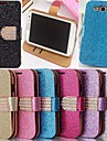 Glitter Powder Style PU Leather Full Body with Stand and Card Slot for Samsung Galaxy S3 I9300