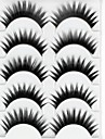 Eyelashes lash Eyelash Thick Natural Long Volumized Thick Fiber