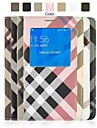 Angibabe Checks Pattern Flip Leather Case with View Window for Samsung Galaxy Alpha G8508S 4.7 inch(Assorted Color)