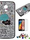 ok ok étui rigide modèle de pc avec protecteur d'écran, prise de poussière et de se présenter pour Motorola MOTO g2 / xt1063