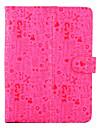 """bonito padrão de pequenos desenhos animados caso estande universal couro inversão magnética para todos os 8 """"tablet cores pcassorted)"""