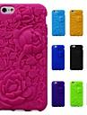 3D는 아이폰 6 / 6S (모듬 색상)를 패턴 실리콘 고무 소프트 케이스 장미