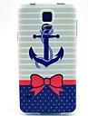 For Samsung Galaxy Case Pattern Case Back Cover Case Anchor TPU Samsung S5