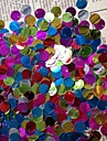 150PCS Colorful Circle Sequin 10mm Handmade DIY Craft Material/Clothing Accessories