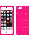 Newest Luxury Bling Crystal Diamond Starry Silicone Back Cover Case for iPhone 5/5S(Assorted Colors)