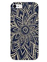 Black Flower Pattern Back Case for iPhone6