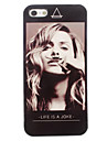 Life is a Joke Design Aluminum Hard Back Case for iPhone 5/5S