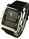 мужские часы спорта привело аналого-цифровой многофункциональный дисплей