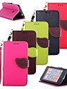 KARZEA™ Leaf Mixed Colors TPU Leather Full Body With Stand and Stylus for Nokia Lumia 520 (Assorted Colors)