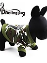 Кошка Собака Толстовки Одежда для собак камуфляж Зеленый Костюм Для домашних животных