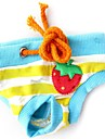 Dog Pants Red / Blue / Pink Dog Clothes Spring/Fall Fruit Cosplay