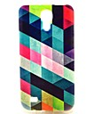 Triangle Splicing Pattern TPU Soft Case for S4 Mini I9190