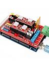 Imprimante 3D méga 2560 rampes r3 + 1,4 étendre bouclier + 4988 stepper ensemble de pilotes