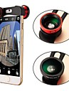 Apexel 3-in-1 Quick Change Camera Lens with Fish Eye Lens, Wide Angle and Macro Lens for iPhone 6 Plus (Assorted Color)