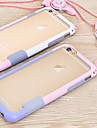 Case For Apple iPhone 6 iPhone 6 Plus Other Bumper Solid Color Soft TPU for iPhone 6s Plus iPhone 6s iPhone 6 Plus iPhone 6