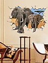 Landscape Animals Still Life Romance Fashion Fantasy 3D Wall Stickers 3D Wall Stickers Decorative Wall Stickers, Paper Home Decoration