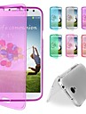 BIG D Touch View TPU Full Body Case for Samsung Galaxy S4 I9500(Assorted Colors)