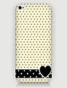 Для Кейс для iPhone 5 Чехлы панели С узором Задняя крышка Кейс для С сердцем Твердый PC для iPhone SE/5s iPhone 5
