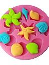 FOUR-C цвет дизайна силиконовые формы кекс сверху плесень торт поставки розовый