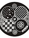 Dedo/Dedo del Pie/Otros - Abstracto Metal - 1 - 6x6 - (cm)