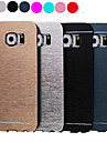 Luxury High Quality Solid Color Brushed Aluminium Hard Case for Samsung Galaxy S6