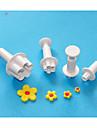 네-C 꽃 sugarcraft 플런저 절단기, 플라스틱 케이크 디자인 절단기, 클래식 케이크 장식 도구