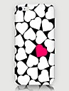 Loving Heart Pattern Back Case for iPhone 6 Plus