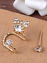 Earring Ear Cuffs Jewelry Women Party / Sports Alloy / Rhinestone 1pc
