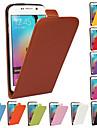 Capinha Para Samsung Galaxy Samsung Galaxy Capinhas Flip Capa Protecao Completa Cor Solida PU Leather para S6 edge