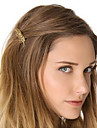 Women\'s Alloy Hair Tie Golden
