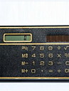 calculadora cartão de energia solar / mini-calculadora cartão