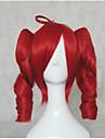 Парики из искусственных волос / Маскарадные парики Свободные волны Блондинка С конским хвостом Искусственные волосы Красный / Блондинка / Коричневый Парик Жен. Средняя длина Без шапочки-основы