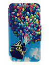 Case For Samsung Galaxy Samsung Galaxy Case Card Holder with Stand Flip Magnetic Pattern Full Body Cases Balloon PU Leather for A8 A7 A5
