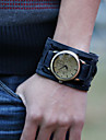 Men's Vintage Leather Strap Watch Cool Watch Unique Watch